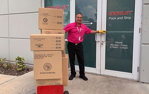 Crowley Pack and Ship Service Center Personel